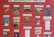 French bulletin board
