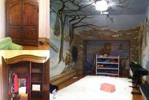 Kids Bedroom Inspiration / Inspiration for magical kids bedrooms