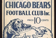 chicago bears / by Leslie Brence-Pendergrass