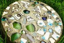mosaicos en concreto