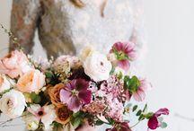 сиреневые ,фиолетовые свадебные букеты
