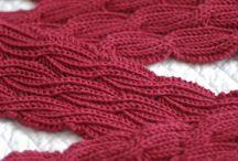 Фактура шарфов