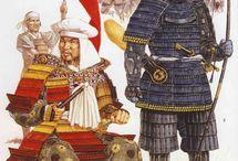 Knights, samurai, warriors.