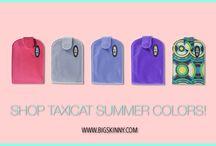 Big Skinny Wallets Summer Colors