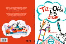 Tiz and Ott's Big Draw and kids pics! / Tiz & Ott's Big Draw by Bridget Marzo (Tate Publishing) Tiz and Ott kids workshops and inspirations / by Bridget Strevens-Marzo