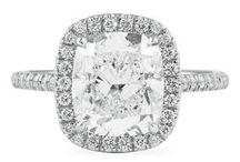 CUSHION CUT MICRO PAVE HALO RINGS / Cushion cut diamonds in our custom micro pave halo designs