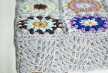 Crochet cover for stools / Crochet