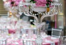 Centre pieces and table decor