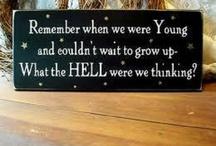 Funny sayings / by Lesley McDermid
