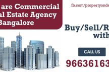 Commercial Real Estate Agency in Bangalore