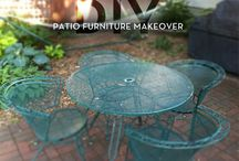 Garden_Patio_Furniture / garden and patio furniture. new, thrifted, redo, diy #patio #furniture #diy #Thrifted #redo #build / by Monica Wallek