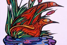 """Ritchie """"Stardreamer"""" Sinclair art"""