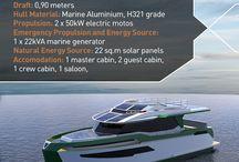GN47 - Hybrid Aluminium Yacht / #greenaval #greenavalseries #electricboat #electricyacht