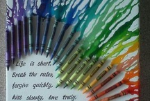 Crafty Ideas / All things colourful......