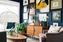 Inspiring Spaces / Inspiring spaces outfitted with great artwork.