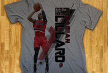 Portland Trail Blazers / Officially licensed NBA player graphic apparel for all of the Portland Trail Blazers top players.