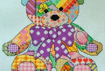 Cross Stitch BEARS