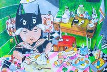 artwork zulfa / my paintings