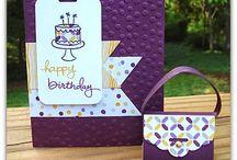 DIY Paperwork Ideas - Birthday Cards