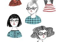 eyewear illustration