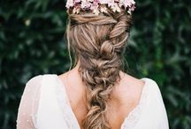 Peinados Novia Flores