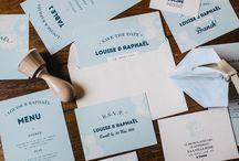 Les Faire-part • Septembre Papeterie / Collections de papeterie pour les futurs mariés
