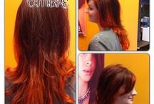 Bella Mia ombré hair color / Goldwell 700 ombré