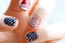 Patriotic Nails / Show your country pride  / by CutexUS