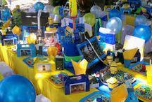 Despicable Me - Minion Party Ideas / Party on with the minions!! Because they love to party! and want to party with you! A Collection of Despicable Me! party supplies.