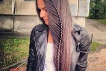 S - Braids and other pretty hairdos / S for style.