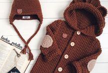Vaikiski megzti nerti rubeliai