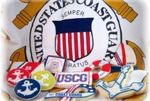 Top Coast Guard Cakes / Check out these tribute cakes to the honorable members of the U.S Coast Guard! #top-cakes #coast-guard #cakecentral