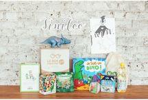 Juin 2015 - Box créative 3-9 ans Tiniloosaurus & Cie / Une box créative pour les enfants de 3 à 9 ans sur le thème des dinosaures signée Gulli by Tiniloo !