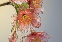 Dip flower / dip art