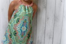 Little Miss / Gorgeous dresses, tops, shorts, harem pants available for your little Miss up to size 10