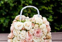 Sac a mains florals ...Floral purse...