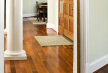 Wood floor project