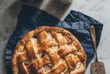 Apple pie photography