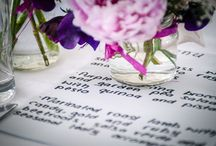 Marquee Wedding Ideas / Just a few ideas from previous weddings we have been involved with.