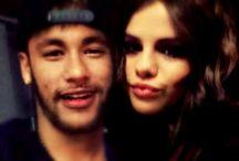 Neymar y Selena Gomez
