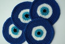Crafts/Greek style/Evil eye