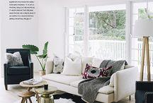 cowhide livingroom
