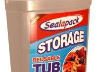 Reusable Storage Tubs