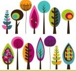 Árvores, flores e plantas - Inspirações!