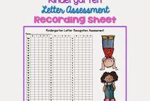 Kindergarten Assessments...