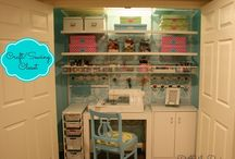 Craft Room Ideas / by Sandy Rumsey