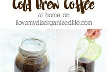Coffee flavored and Brewing