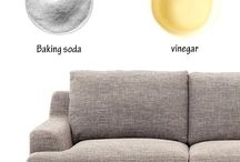 cleaning sofa♥
