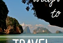 Budget Travel / Budget travel ideas and inspiration