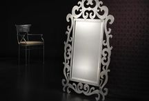 Mirrors /  Effe.Bi offers many models of mirrors in various styles and dimensions,  from mirrors in wrought iron to models in crystals and porcelain.